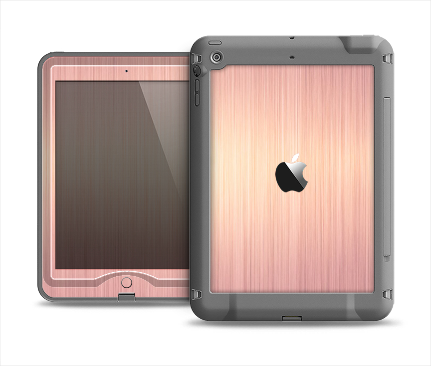 the rose gold brushed surface apple ipad from design skinz. Black Bedroom Furniture Sets. Home Design Ideas