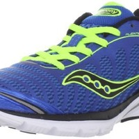 Saucony Men's Progrid Kinvara 3 Running Shoe,Blue/Citron,11 M US
