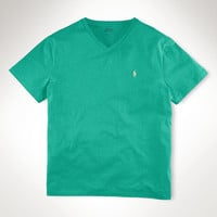 CLASSIC-FIT COTTON V-NECK TEE