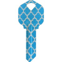 The Hillman Group #66 Diva Moroccan Metallic Key-86918 - The Home Depot
