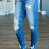 VONEB7F Kan Can Callie Skinny Jeans