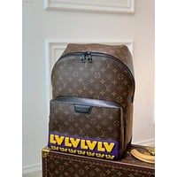LV Louis Vuitton 2021 NEW ARRIVALS MONOGRAM CANVAS RUBBER DISCOVERY BACKPACK BAG