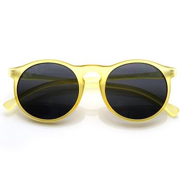 Unique Indie Vintage Key Hole P3 Round Sunglasses 8587