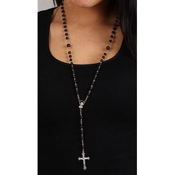 The Classic Rosary in Black