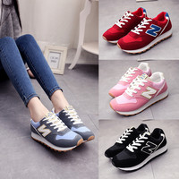 Stylish Hot Sale On Sale Comfort Hot Deal Korean Flat Casual Jogging Sneakers [9257017100]