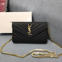 ysl women leather shoulder bag satchel tote bag handbag shopping leather tote crossbody satchel shouder bag 169
