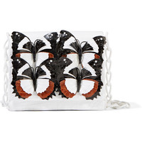 Nancy Gonzalez - Gio appliquéd crocodile shoulder bag