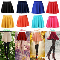 Summer Fashion Women's Mini Sexy Skirts, Candy Color Skirts (9 Colors) = 1958803268
