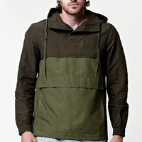 Modern Amusement Anorak Tech Jacket - Mens Jacket - Green