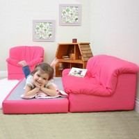 Kids Furniture - My Little Kids Flip 'n Out Lounge Sofa