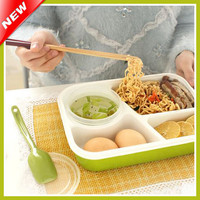 2015 3&1 Creative Bento Lunch Box For Kids Lunchbox Food Container Thermos For Food Tableware Bento Box Lancheira Dinnerware Set