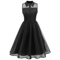 The Spooky Hepburn Dress
