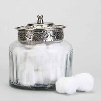 Magical Thinking Boho Glass Canister- Clear One