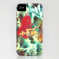 The Mermaid iPhone Case by Alice X. Zhang | Society6