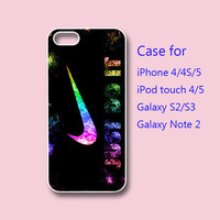 JUST DO IT - iPhone 4 case, iPhone 5 case, ipod touch case , galaxy s3 case , galaxy note 2 case