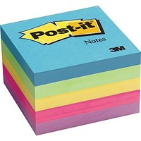 Post-it® 3 x 3 Ultra Colors Notes, 5 Pads/Pack