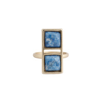 Double Square Ring (view more colors)