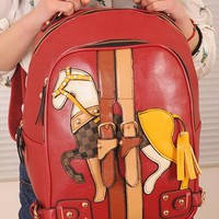 Multicolor horse bag from shoplayla