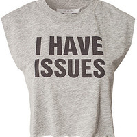I Have Issues Top, Issue 1.3