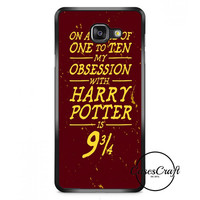 Harry Potter Movie Poster Barely There Samsung Galaxy A7 Case   casescraft