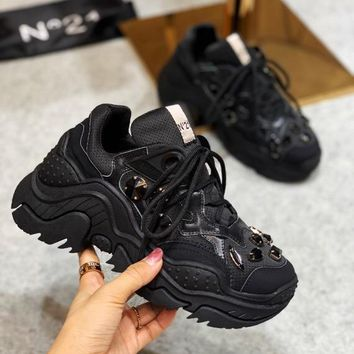 N21 Women Fashion Casual Running Sport Shoes Sneakers Slipper Sandals High Heels Shoes
