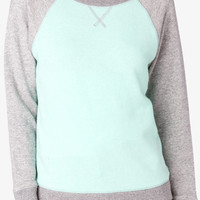 Contrast French Terry Pullover | FOREVER 21 - 2036961457