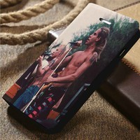 Red Hot Chili Peppers Custom Wallet iPhone 4/4s 5 5s 5c 6 6plus 7 and Samsung Galaxy s3 s4 s5 s6 s7 case