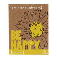 BE HAPPY GROW ME SUNFLOWERS KIT