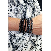 GiGi Stacked Beaded Bracelets