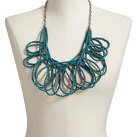 Seed-Bead Loop Chain Necklaces