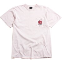 Laguna Flower Pigment Dyed Pocket T-Shirt Fog