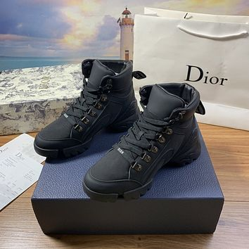 dior fashion men womens casual running sport shoes sneakers slipper sandals high heels shoes 386