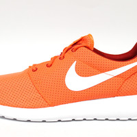 Nike Men's Roshe-Run Hyper Crimson Orange/Red Shoes 511881 816