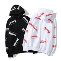 Print Hip-hop Skateboard Hoodies [1016606294052]
