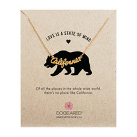 Love is a State of Mind California Necklace