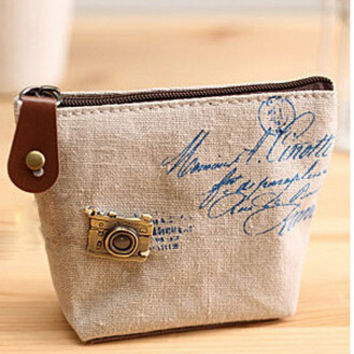 Cool Vintage White Coin Purse