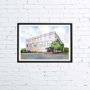 The Office Inspired Poster - Dunder Mifflin Scranton - Pam Beesly Painting - A4 - TV Poster
