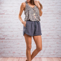 Play It Cool Shorts, Navy
