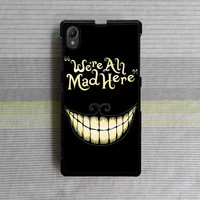 Sony Xperia Z case , Sony Xperia Z1 case , Sony Xperia Z2 case , we're all mad here