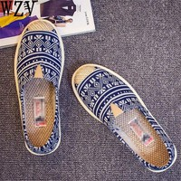 2018 New Fashion Casual Print Shoes Woman Prairie Princess Canvas Shoes Women Wear Resistant Sneakers Breathable Walking Shoes