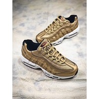Nike Air Max 95 Prm Gold 918359-70019 Sport Running Shoes
