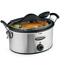 Hamilton Beach 6-Quart Stay or Go Slow Cooker, 33162