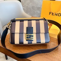 Fendi Retro Women's Simple Wild Shoulder Bag Crossbody Bag