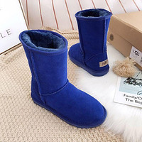 UGG Men's and Women's Fashion Snow Boots Shoes