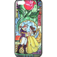 Disney Beauty And The Beast Stained Glass iPhone 5C Case