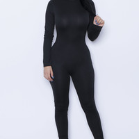Black Stella Jumpsuit Unitard