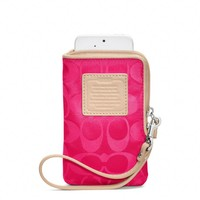 Coach :: Legacy Weekend Nylon North/south Universal Case