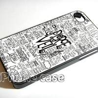 Pierce The Veil Song Lyric 4 iPhone Case and Samsung Galaxy Case