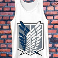 Titan attack   best Tank Top Mens and Girls