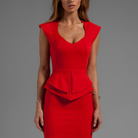 Black Halo Giovanni Mini Dress in Russet from REVOLVEclothing.com
